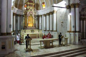Interior de la Iglesia de San Agustín.