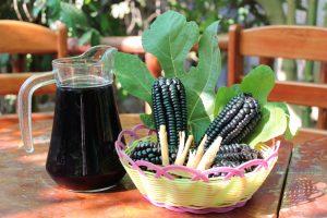Chicha morada, refresco típico de Perú.