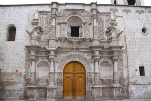 Portada de la iglesia de San Agustín.
