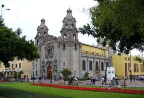 Iglesia de la Medalla Milagrosa, en Miraflores