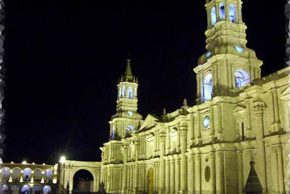 Sitios turísticos en Arequipa