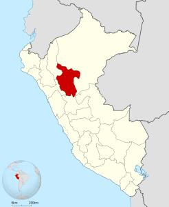 Ubicación del Departamento de San Martín