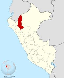 Ubicación del Departamento de Amazonas