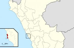 Ubicación de la Provincia Constitucional del Callao