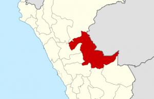 Ubicación del Departamento de Ucayali