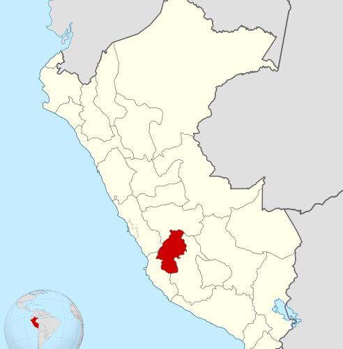 Departamento De Huancavelica Viajar A Peru