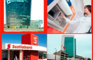 Principales agencias bancarias en el Perú