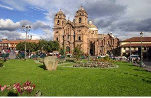 Plaza de armas de la ciudad de Cusco