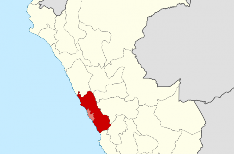 Ubicación del Departamento de Lima