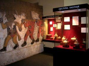 La Sala Moche del Museo de Arqueología, Antropología e Historia de la Universidad Nacional de Trujillo.